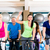 группа · спортзал · фитнес · велосипедах · лучше · человека - Сток-фото © kzenon