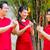family celebrating chinese new year stock photo © kzenon