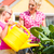 family gardening in front of their home stock photo © kzenon