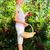 vermelho · groselha · arbusto · casa · jardim - foto stock © kzenon