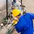 endüstriyel · işçi · çalışma · makine · teknisyen · fabrika - stok fotoğraf © Kzenon