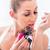 perfume · banheiro · espelho · mãos · mulheres - foto stock © kzenon