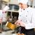 femminile · chef · ristorante · cucina · cottura · hotel - foto d'archivio © Kzenon