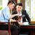 chinese · zakenlieden · vergadering · hotel · lobby · drie - stockfoto © kzenon