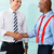 business handshake in office after agreement stock photo © kzenon