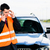man with car breakdown calling towing company stock photo © kzenon