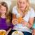 kind · fast · food · jongen · maaltijd · mond · kid - stockfoto © kzenon
