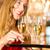男 · シャンパン · 女性 · 幸せ - ストックフォト © kzenon