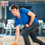 young man bowling having fun stock photo © kzenon