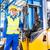 raktár · munkás · építkezési · anyagok · targonca · építkezés · munka - stock fotó © kzenon