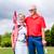 senior · vrouw · man · spelen · golf · groene - stockfoto © kzenon