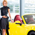 asian couple choosing roadster car in dealership stock photo © kzenon