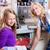 ребенка · домашнее · хозяйство · работа · по · дому · девушки · образование · рабочих - Сток-фото © kzenon