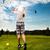giovani · golf · swing · uomo · sport - foto d'archivio © Kzenon