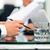 zakenlieden · onderhandeling · overeenkomst · bespreken · kantoor · vrouwen - stockfoto © kzenon