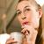 woman drinking with a straw stock photo © kzenon