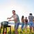 groep · vrienden · picknick · barbecue · outdoor - stockfoto © kzenon