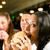 mensen · amerikaanse · diner · restaurant · eten · fast · food - stockfoto © kzenon