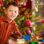Noel · küçük · erkek · noel · sunmak · mutlu - stok fotoğraf © Kzenon