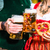 Pareja · tomados · de · las · manos · restaurante · personas · amor - foto stock © kzenon