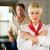 mannelijke · vrouwelijke · chefs · keuken · hotel - stockfoto © kzenon