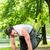 emberek · felfüggesztés · csúzli · edző · fitnessz · fiatal - stock fotó © kzenon