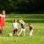 семьи · играет · футбола · вместе · парка · счастливая · семья - Сток-фото © kzenon