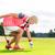 женщину · мяч · для · гольфа · тесные · выстрел · стороны · гольф - Сток-фото © kzenon