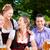 bière · jardin · amis · table · collations · arbre - photo stock © Kzenon