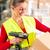 женщины · работник · пакет · склад · логистика · жилет - Сток-фото © kzenon