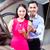 asiático · casal · compra · carro · automático - foto stock © kzenon