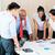 asian business startup team in meeting stock photo © kzenon