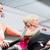 シニア · 女性 · サイクリング · クラス · ジム · 男性 - ストックフォト © kzenon
