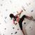 vrouw · klimmen · muur · atletisch · meisje - stockfoto © kzenon
