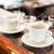 cups of drip coffee on bar of coffee shop stock photo © kzenon