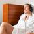 женщину · ванны · халат · Spa · халат · расслабляющая - Сток-фото © kzenon