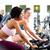 fitness · młoda · kobieta · siłowni · rowerów · cardio - zdjęcia stock © kzenon