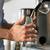 barista · süt · sıcak · makine · kadın - stok fotoğraf © kzenon