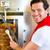 kebab   hot doner with fresh ingredients stock photo © kzenon