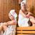 iki · kadın · sağlıklı · yaşam · spa · sauna · demleme - stok fotoğraf © kzenon