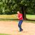 kıdemli · golfçü · oynama · top · göl - stok fotoğraf © kzenon