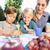 mamma · schilderij · foto's · kinderen · lunchpauze · vrouw - stockfoto © kzenon