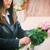 черный · вдова · горе · портрет · цветок · свадьба - Сток-фото © kzenon