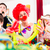 Kids birthday party with clown and lot of noise  stock photo © Kzenon