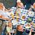 family eating in the garden stock photo © kzenon