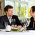 обед · ресторан · бизнеса · Изысканные · ужины · женщину - Сток-фото © Kzenon