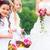 bruiloft · drie · vrouw · handen · voorjaar · steeg - stockfoto © kzenon