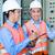 asian · elektryk · płyta · budowa · indonezyjski · technik - zdjęcia stock © kzenon