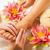 voeten · massage · vrouw · genieten · spa - stockfoto © Kzenon