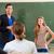 учитель · студент · Math · школы - Сток-фото © kzenon